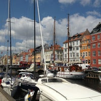 Photo taken at Nyhavnsbroen by Yannis . on 7/9/2013