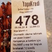 Photo taken at Yapı Kredi Bankası by Rıdvan on 4/5/2018
