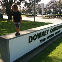 Photo taken at Los Angeles Superior Downey Courthouse by Beverly, Lewis, & Edward on 4/1/2015