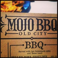 Photo taken at MOJO Old City BBQ by Tara C. on 5/26/2013
