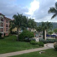 Photo taken at Sandals Whitehouse European Village & Spa by Amanda C. on 8/16/2013
