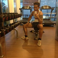 Photo taken at D Condo Fitness Club รามคำแหง 164 by Nutguyman B. on 7/9/2013