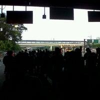 Photo taken at Ayala Bus Stop (Northbound) by Rodolf I. on 7/8/2013