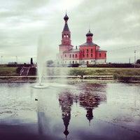 Photo taken at Maardu Kiriku Park by Ingvar P. on 8/10/2013