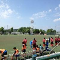 Photo taken at トヨタスポーツセンター サッカー場(人工芝グラウンド) by LQO on 7/28/2013