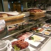 Photo taken at Lufthansa Senator Lounge B by Casey K. on 9/22/2012