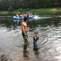 Photo taken at Kittatinny Campgrounds by Tracy G. on 7/13/2013