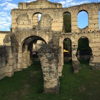 Photo taken at Palais Gallien by Sonia G. on 10/9/2016