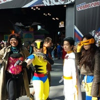Photo taken at New York Comic Con by Belle on 10/13/2013