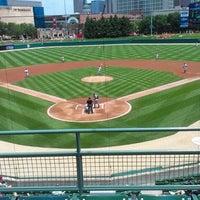 Photo taken at Victory Field by Eddie R. on 6/5/2013