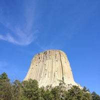 Photo taken at Devils Tower National Monument by Lynda M. on 5/11/2013