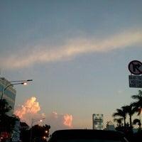 Photo taken at Jalan Mampang Prapatan Raya by Karina P. on 12/28/2013