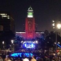 Photo taken at Grand Park by Eddie M. on 7/5/2013