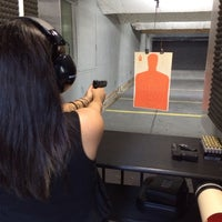 Photo taken at Ted's Shooting Range by Aaron K. on 3/8/2014