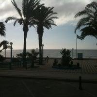 Photo taken at Playa Ferrara by Thomas B. on 11/17/2012