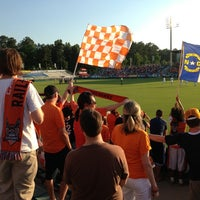 Photo taken at WakeMed Soccer Park by Angela C. on 5/29/2013