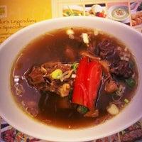 Photo taken at Sop Buntut Bogor Cafe by chintya on 9/27/2012