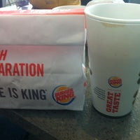 Photo taken at Burger King by Leandro T. on 1/18/2014