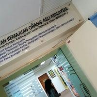 Photo taken at Jabatan Kemajuan Orang Asli by Ahmad Faizal A. on 1/15/2016