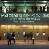 Photo taken at BankUnited Center by Brian C. on 1/23/2013