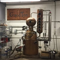 Photo taken at GrandTen Distilling by Noah S. on 1/16/2016