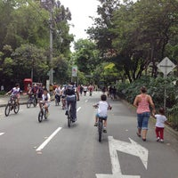 Photo taken at Ciclovía Avenida El Poblado by Jeff T. on 6/3/2013