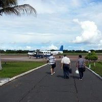 Photo taken at Aeroporto de Itaituba (ITB) by Tom F. on 4/10/2013