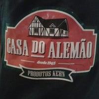 Photo taken at Casa do Alemão by Carolina R. on 2/24/2013