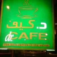 Photo taken at dr.CAFE COFFEE by Yazan S. on 6/13/2013