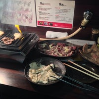 Photo taken at 焼肉 勢太 by はしぞー on 8/2/2014