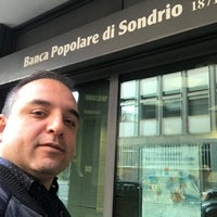 Photo taken at Banca Popolare di Sondrio by vahid m. on 11/21/2017