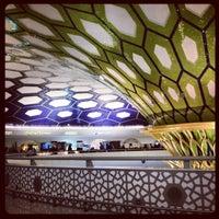 Photo taken at Abu Dhabi International Airport (AUH) by Diana P. on 1/5/2013
