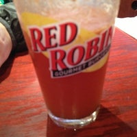 Photo taken at Red Robin Gourmet Burgers by Greg D. on 3/2/2013