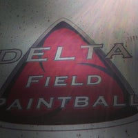 Photo taken at Delta Paintball Field by Jim Bob S. on 3/10/2013