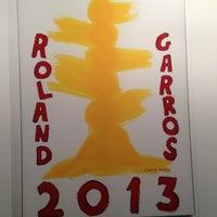 Photo prise au Boutique La Griffe Roland Garros par Carlos Edmur L. le8/21/2013