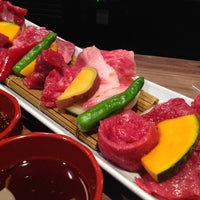 Photo taken at 俺の焼肉 銀座9丁目店 by takakoji on 6/10/2014