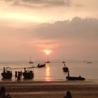 Photo taken at Railay Beach West by takakoji on 10/21/2014