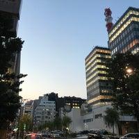Photo taken at 演舞場通り by takakoji on 6/15/2017