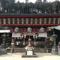 Photo taken at Ohirasanjinja Shrine by cony ma on 3/18/2018