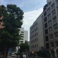 Photo taken at 演舞場通り by takakoji on 7/20/2016