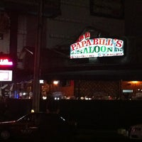 Photo taken at Papa Bill's Saloon by David Q. on 10/9/2012