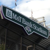 Photo taken at M&T Bank Stadium by Mark S. on 10/14/2012