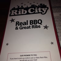 Photo taken at Rib City by Charles L. on 7/19/2014