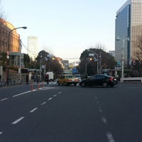 Photo taken at お茶の水交差点 by yasuzoh on 1/4/2014
