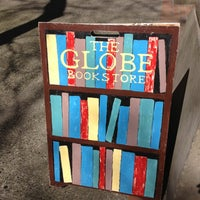 Photo taken at The Globe Bookstore by Kate H. on 3/29/2013