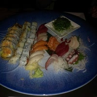 Photo taken at Tomodachi Sushi by Samuel Y. on 2/27/2013