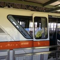 Photo taken at Monorail Orange by Dawn P. on 1/5/2013