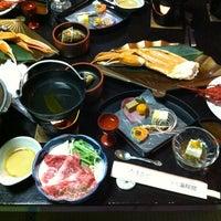 Photo taken at Hotel Mikawa Kaiyoukaku by Mikio T. on 12/31/2012