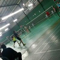 Photo taken at 99 Badminton Court by ShamimiHaniza D. on 6/25/2014