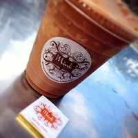 Photo taken at Mink Chocolate and Coffee by Sarah Yana A. on 8/25/2014
